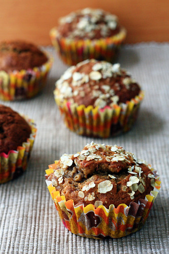 banana coffee muffins