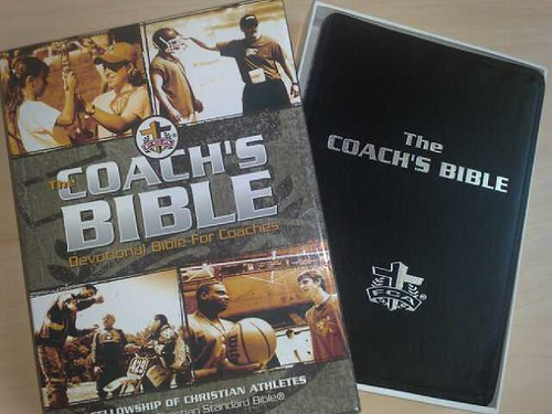 Coach's Bible (Devotional Bible for Coaches)
