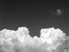 clouds (monkeymillions) Tags: bw white black