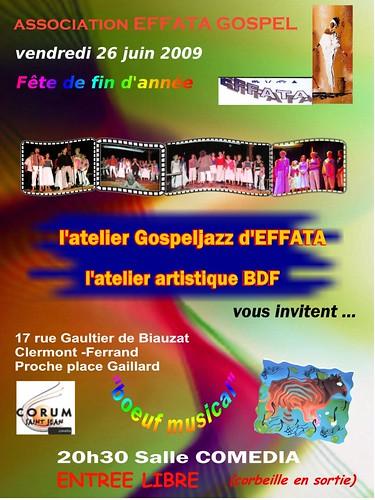 Atelier Gospel Jazz d'Effata fait son boeuf musical