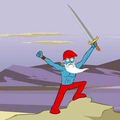 """""""Rise Up My Smurflings!"""" (AtomComedy) Tags: smurfs danmeth toymovies"""