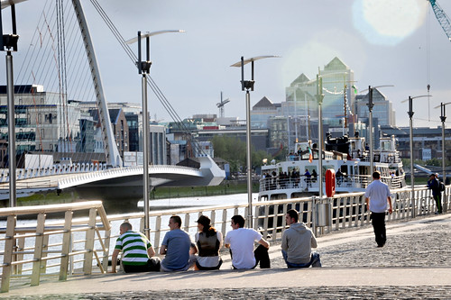 Sunday afternoon on the Quays