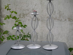 Candlesticks (andy whittle) Tags: stuff freecycle