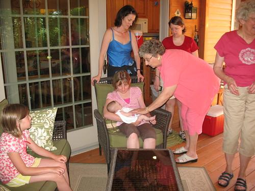 Peyton, Hannie and Grandma Dee