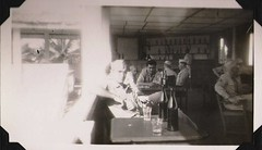 1940s military man in Egypt (in a canteen) (912greens) Tags: men army bars egypt drinking middleeast 1940s ww2 soldiers canteen airforce folksidontknow 8thairdepotgroup