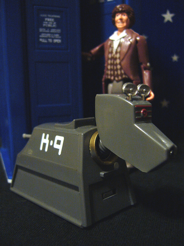 Classic Doctor Who Toys