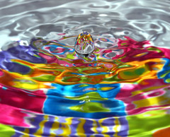 Water Egg On Silk Waves (Proleshi) Tags: favorite colour water colors easter droplets agua nikon waterdrop colorful aqua waves fiesta kitlens vivid drop h2o refraction drips ripples suspended 1855 splash multicolored favourite wavy vr bending easteregg d60 frozenintime refract bendinglight waterstudy beforeimpact