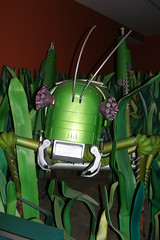Robot Grasshopper from the Robot Zoo