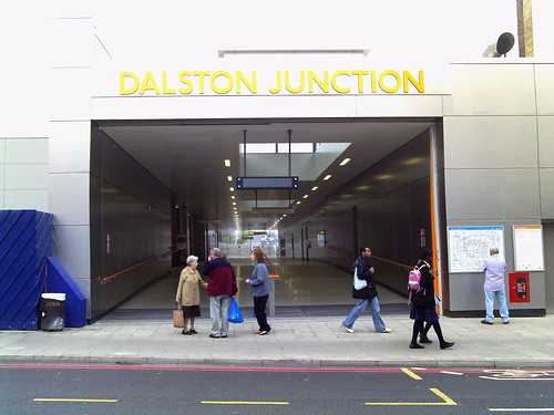 Dalston Junction - possible stop on Crossrail 2