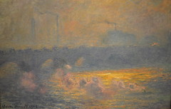 Claude Monet - Waterloo Bridge, Sunlight Effect with Smoke at Baltimore Art Museum (mbell1975) Tags: bridge usa sunlight art museum painting us md gallery museu with smoke maryland baltimore musée musee m waterloo monet impressionism claude museo effect impression muzeum müze museumuseum pfip