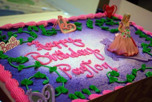 Payton's Birthday Cake