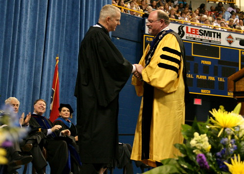 Bell receives honorary doctoral degree