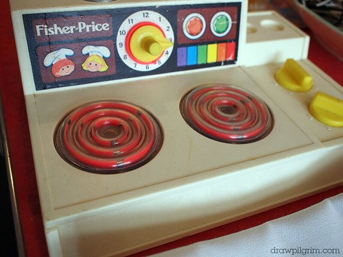 arthur's circus: Fisher Price Stove