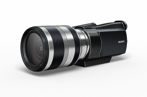 Interchangeable Lens HD Camcorder