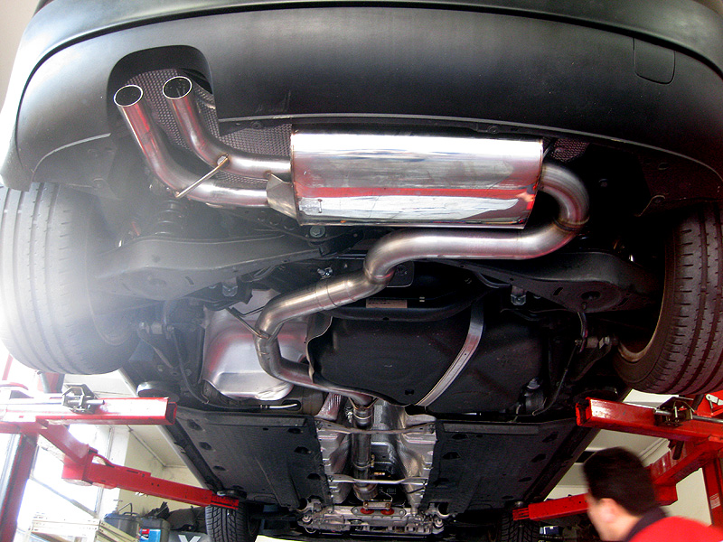 For Motorsport Use Only Is Sted On The Turbo Down Pipe: Mk5 Golf Gti Exhaust At Woreks.co