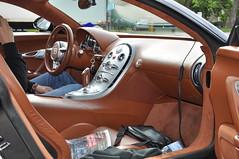 Bugatti Veyron Interior (wesjs) Tags: new york toronto slr london amsterdam boston copenhagen mercedes quebec stockholm 911 continental ferrari mclaren porsche lp bmw gran rolls morgan gt m3 bugatti turismo 3000 lamborghini rs royce bentley sv maserati gumball 2010 veyron murcielago 670 gt3 997