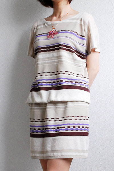 1 piece Kimono Tee dress