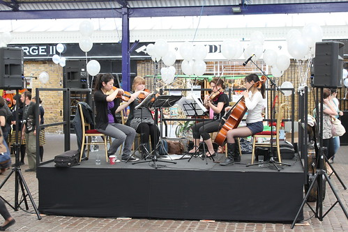 String Quartet - Greenwich Market