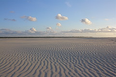 ZIG ZAG BEACH (The Family Dog) Tags: blue sky beach island patterns ameland