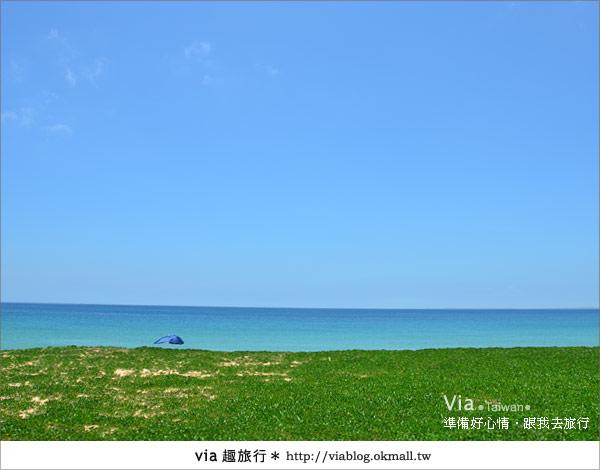 【澎湖沙灘】山水沙灘,遇到菊島的夢幻海灘!7
