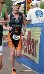 Ironman Texas 2011 M45 champion 9:29