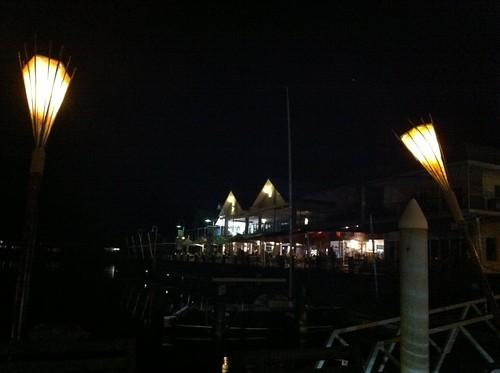 Dinner at Cullen Bay
