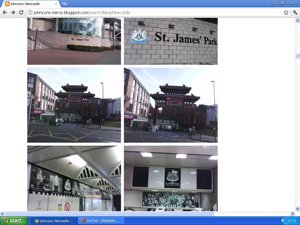 newcastle svart og hvitt chinatown