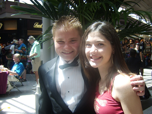 Jacob Nelson and Sara Niemietz