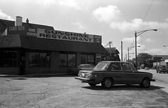 Sunshine Restaurant (BMW 2002) (Fogel's Focus) Tags: 2002 chicago sunshine restaurant olympus 11 d76 bmw stylusepic 20c chicagoist spotmeter 3528 kodakd76 10min film:iso=100 legacypro100 developer:brand=kodak developer:name=kodakd76 film:brand=freestylearista freestylearistalegacypro film:name=freestylearistalegacypro100 filmdev:recipe=6739