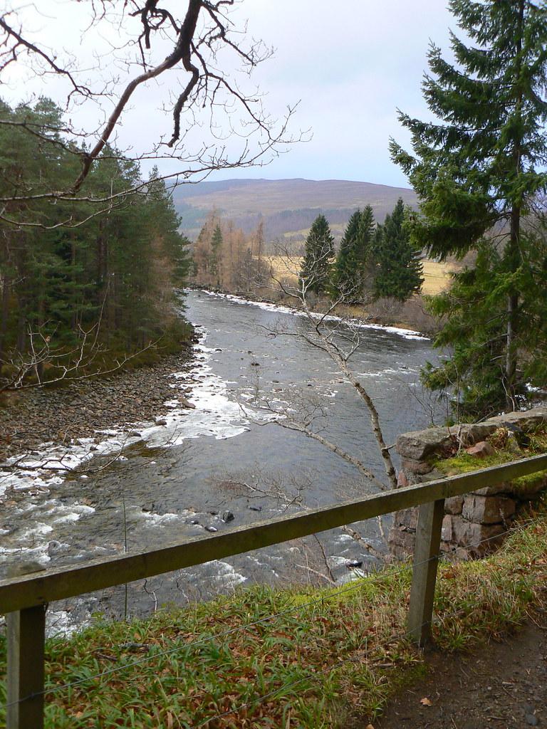 River Dee near Craigendarroch Hilton