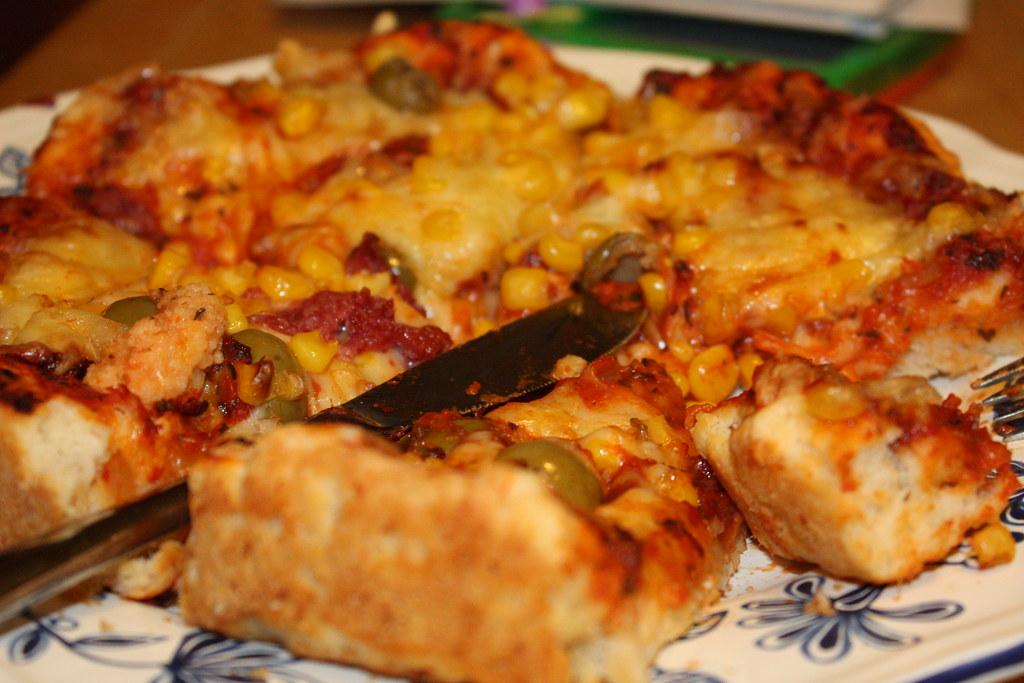 Pizza Pizza, ein Stück vom Himmel!