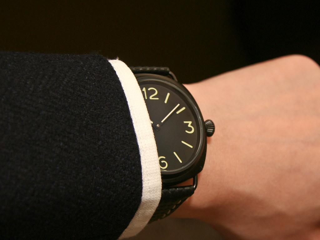 Dress wristshot - Marina Militare PVD Radiomir