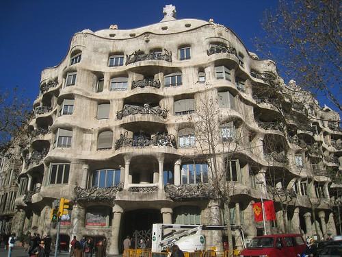 Gaudi's La Pedra