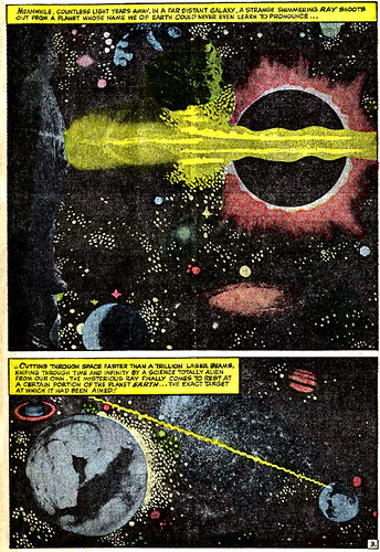 Jack Kirby photomontage from Fantastic Four #32 (November 1964)