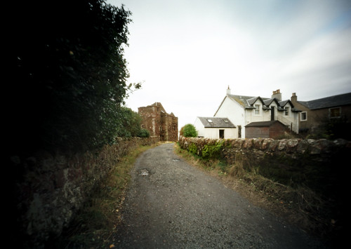 Pinhole image castle lane 05Feb09