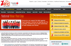 National Wear Red Day on the Quicken Loans blog