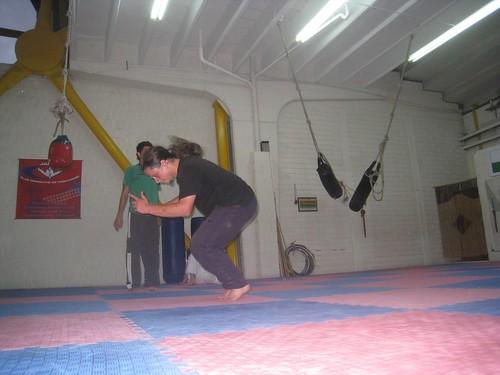 Martin wraps up a backflip