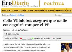tienen miedo (nadie en campaña) Tags: política miedo pp villalobos nadie titulares