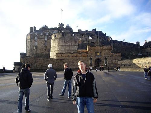 2009, 01, Janvier, Edinburgh, Le Château (2)