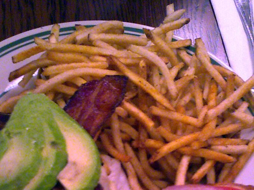 French fries @ The Nickel
