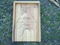 Asatru House Aett Rune Casting Board (dragonoak) Tags: nordic celtic viking runes futhark asatru diviniation castingboard