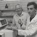 Dr Fernando Martinez and Dr Stephen Lawrence at the University of Newcastle, Australia - 1990