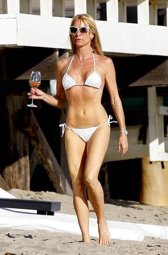 Nicollette Sheridan bikini shoot