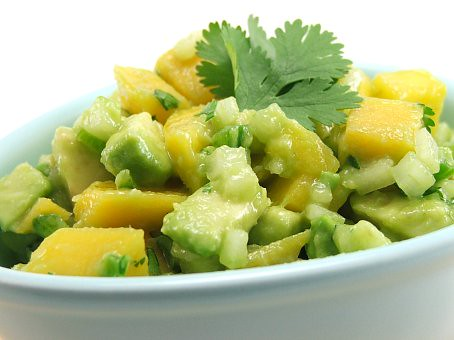 and avocado salsa by mango salsa is a delicious avocado mango salsa ...