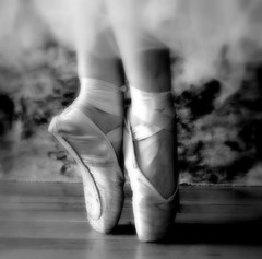 Beloved Pointe Shoes (AnnaBella Photography by Annamarie and Teresa Dear) Tags: ballet feet sepia dance soft passion pointe supershot fivestarsgallery twelveyearsold platinumphoto ontoe