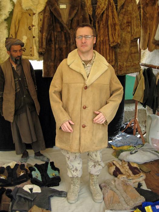 Derek Cheff at Kabul Bazaar