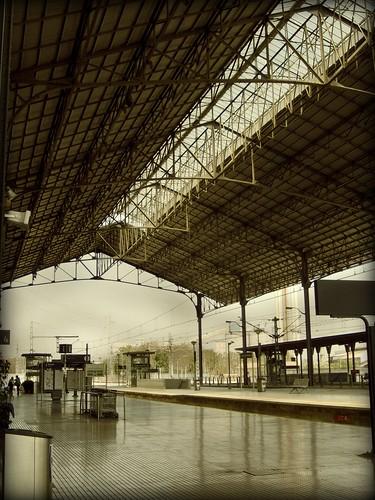 Estación de tren, Jerez de la Frontera picnikeada