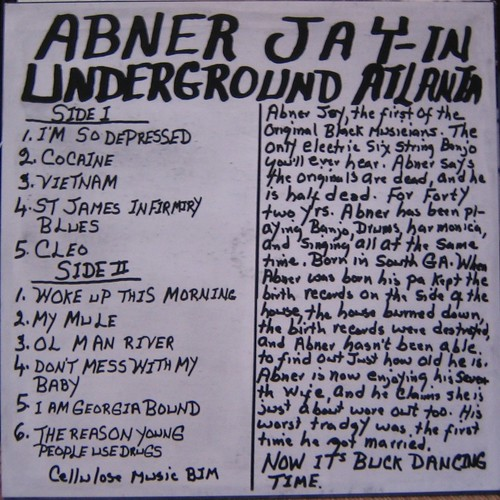 Abner Jay, Mississippi Records by you.