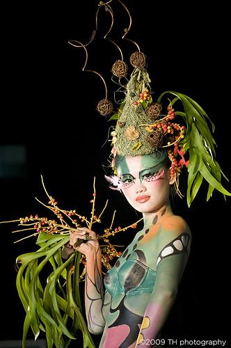 Environmental Friendly Body Painting Art Show