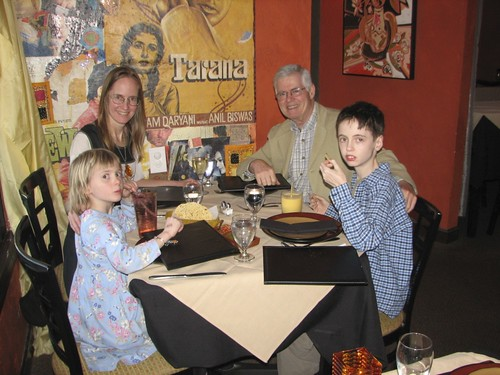 Birthday dinner at Bollywood in Pleasantville